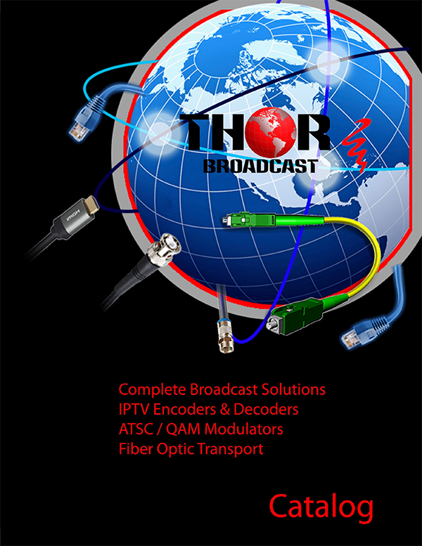 Thor fiber and Broadcast catalog