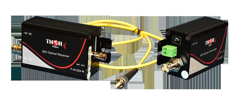 SDI over fiber