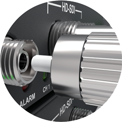 FC optical connector for 1 HD-SDI optical transport