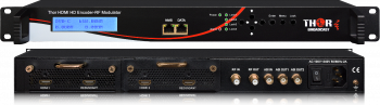 1- 4 HDMI to QAM Modulators and IPTV Streaming Encoders 1080p/60