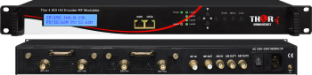 1-4  SDI to DVB-T RF Modulators and IPTV Streaming Encoders
