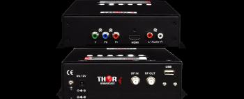 1 HDMI YPbPr HD TV Digital Compacta Modulador QAM ATSC DVB-T 1080p/60