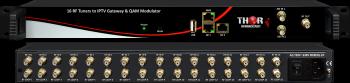 16 RF Tuners to IPTV TS & QAM Output