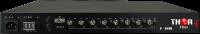4 x (4K/UHD) al 30 de fts o 2 x 4K @60 fps más de convertidor de fibra