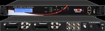 4 X Satellite or ATSC IRD Decoder to  IP, ASI