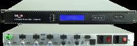 4 LNB's satellite distribution system for MDU over 1 fiber - DWDM- High Power