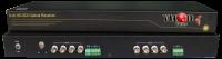 8 SDI / HDSDI Over 1 Fiber Optical Transmission Multiplexer