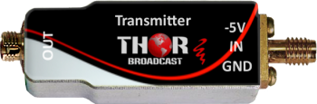 4GHz de fibra óptica mini Transmiter / Receptor