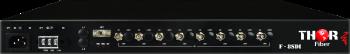 8 canales SD/HD 3G-SDI a Través de una Única Fibra CWDM sin Comprimir para Montaje en Rack