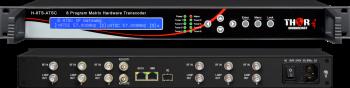 8 Program  RF Input ATSC QAM DVBS2 ASI Matrix Hardware Transcoder