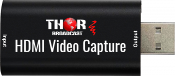 HDMI to USB 2.0  Audio Video Capture Device, High Definition 1080p 30fps Record Directly to Computer for Gaming Streaming