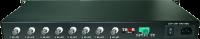 8 Channel DVB ASI Over Fiber