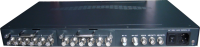 2 canales de Vídeo a Través de cable Coaxial Modulador QAM