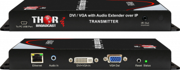 DVI or VGA over IP