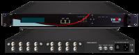 8 x  ATSC or Satelliete Antenna Tuners to IPTV & ASI Output