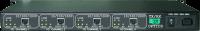 4 Ch Gigabit Ethernet sobre Fibra