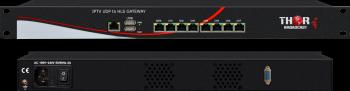 IPTV UDP to HLS GATEWAY