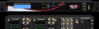 Entrada de RF a la salida de RF Transmodulador DVB-S/S2, QAM, ATSC, DVB-T,