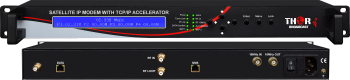 IP satelital de banda ancha Módem Ethernet con TCP/IP en aceleradores de Alta Velocidad a Internet a través de satélite