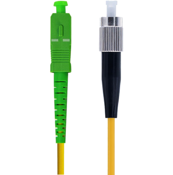 SC/APC to FC/PC Simplex, 3.0mm, Singlemode Patch Cable