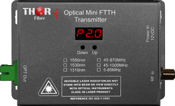 Thor Optical Mini CATV RF Transmitter 45-1000Mhz