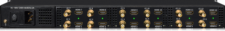 HDMI Multiplexer over Coax, Hdmi to CATV to Hdmi